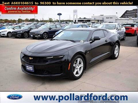 2019 Chevrolet Camaro for sale at South Plains Autoplex by RANDY BUCHANAN in Lubbock TX