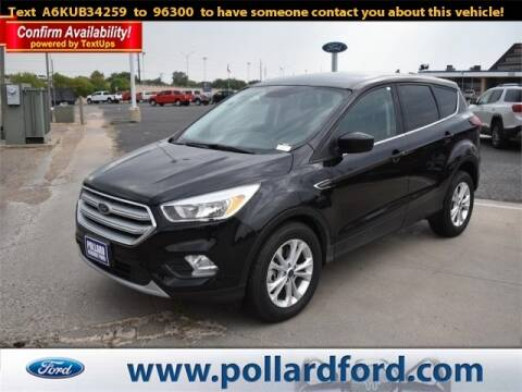 2019 Ford Escape for sale at South Plains Autoplex by RANDY BUCHANAN in Lubbock TX