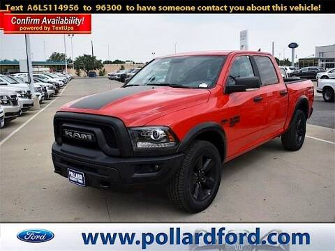 2020 RAM Ram Pickup 1500 Classic for sale at South Plains Autoplex by RANDY BUCHANAN in Lubbock TX