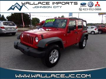 2012 Jeep Wrangler Unlimited for sale in Johnson City, TN