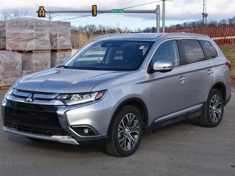 2018 mitsubishi outlander awd sel 4dr suv in johnson city tn wallace imports of johnson city. Black Bedroom Furniture Sets. Home Design Ideas