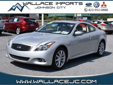 2011 Infiniti G37 Coupe For Sale In Manassas Va Carsforsale
