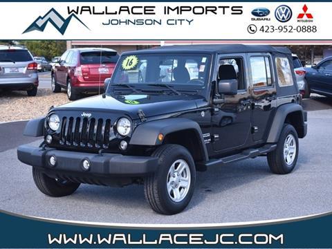 jeep wrangler for sale in johnson city tn. Black Bedroom Furniture Sets. Home Design Ideas