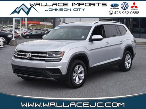 Used Cars Johnson City Tn >> 2018 Volkswagen Atlas For Sale In Johnson City Tn