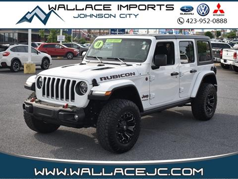 2018 Jeep Wrangler Unlimited for sale in Johnson City, TN