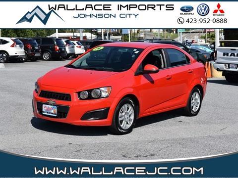 Used Cars Johnson City Tn >> 2014 Chevrolet Sonic For Sale In Johnson City Tn