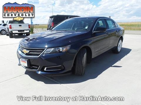 2017 Chevrolet Impala for sale in Hardin MT