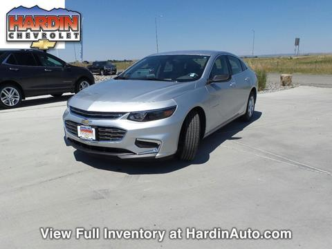 2017 Chevrolet Malibu for sale in Hardin MT