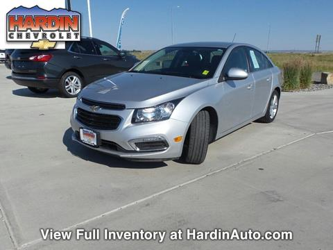 2016 Chevrolet Cruze Limited for sale in Hardin MT