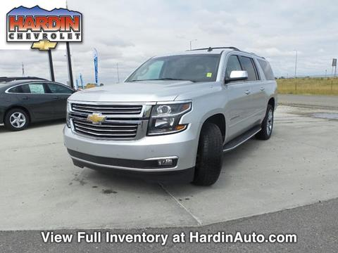 2015 Chevrolet Suburban for sale in Hardin MT