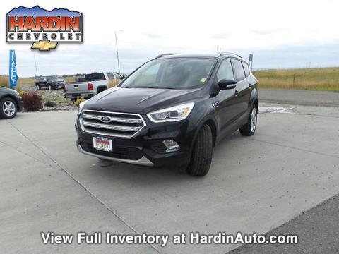 2017 Ford Escape for sale in Hardin, MT