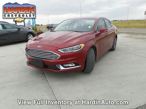 2017 Ford Fusion for sale in Hardin, MT