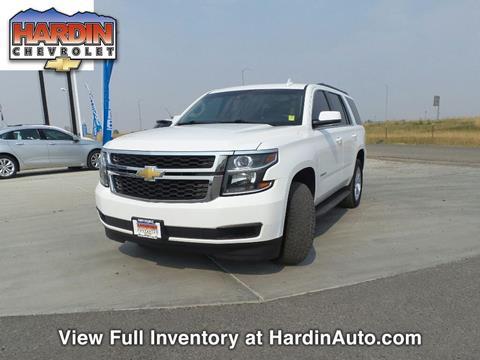 2015 Chevrolet Tahoe for sale in Hardin, MT