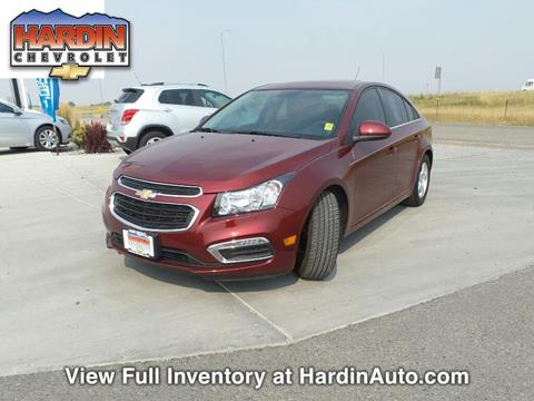 2016 Chevrolet Cruze Limited for sale in Hardin, MT