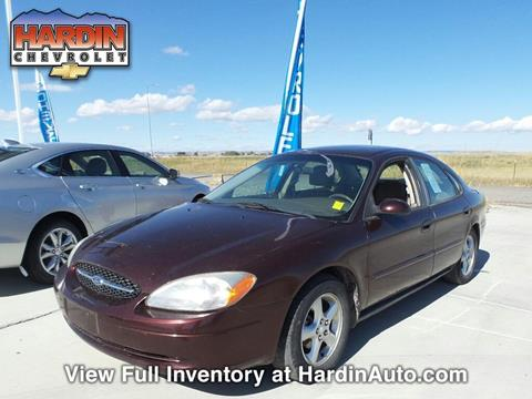 2000 Ford Taurus for sale in Hardin MT