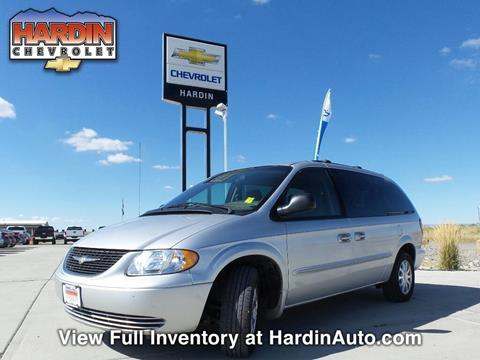 2002 Chrysler Town and Country for sale in Hardin MT