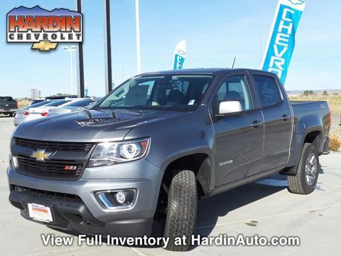 2018 Chevrolet Colorado for sale in Hardin MT