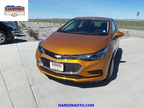 2017 Chevrolet Cruze for sale in Hardin, MT