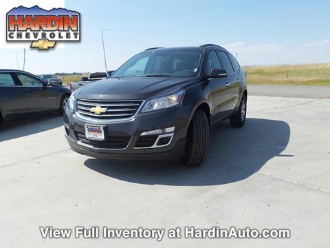 2017 Chevrolet Traverse for sale in Hardin, MT