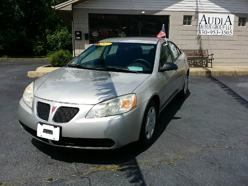 2007 Pontiac G6 Value Leader 4dr Sedan w/1SV - Austintown OH