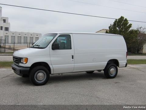 2003 Ford E-Series Cargo for sale in Houston, TX