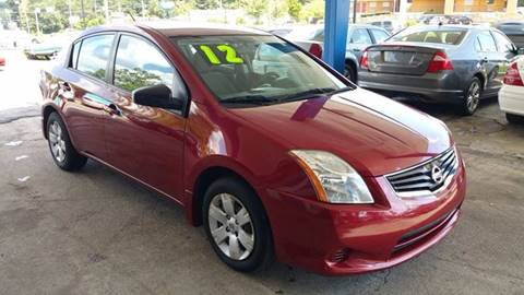 2012 Nissan Sentra for sale in Stone Mountain, GA