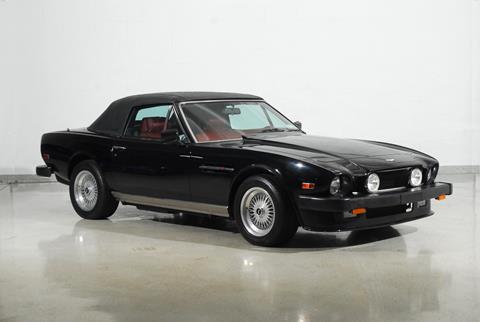 1989 Aston Martin Volante for sale at Motorcar Classics in Farmingdale NY