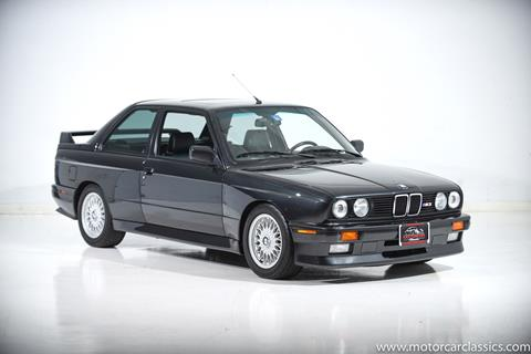 1988 BMW M3 for sale at Motorcar Classics in Farmingdale NY