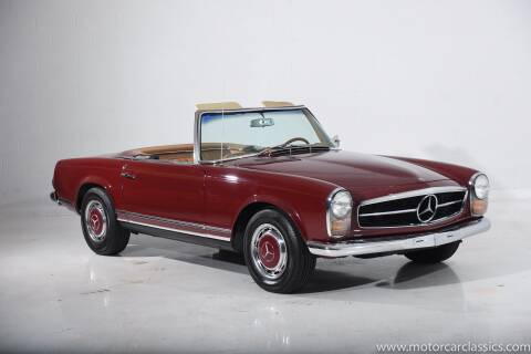 1967 Mercedes-Benz SL-Class for sale at Motorcar Classics in Farmingdale NY