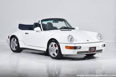 1993 Porsche 911 America Roadster for sale at Motorcar Classics in Farmingdale NY