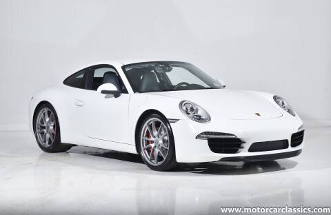 2013 Porsche 911 Carrera S for sale at Motorcar Classics in Farmingdale NY