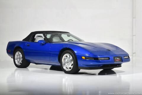 1994 Chevrolet Corvette for sale at Motorcar Classics in Farmingdale NY