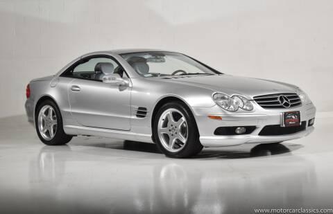 2003 Mercedes-Benz SL-Class for sale at Motorcar Classics in Farmingdale NY