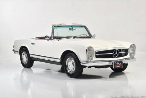 1963 Mercedes-Benz SL-Class for sale at Motorcar Classics in Farmingdale NY