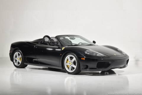 2004 Ferrari 360 Spider for sale at Motorcar Classics in Farmingdale NY