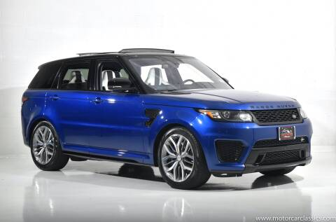 2016 Land Rover Range Rover Sport for sale at Motorcar Classics in Farmingdale NY