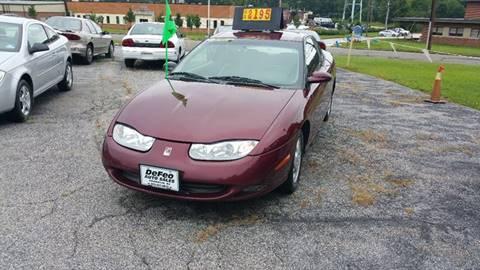 2002 Saturn S-Series for sale in Franklin, NJ