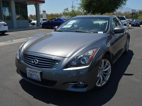 2014 Infiniti Q60 Coupe for sale in Indio CA