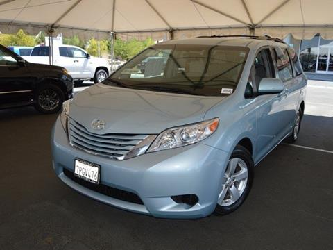 2016 Toyota Sienna for sale in Indio, CA