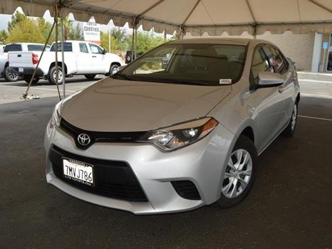 2015 Toyota Corolla for sale in Indio CA