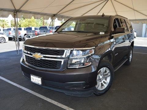 2016 Chevrolet Tahoe for sale in Indio, CA
