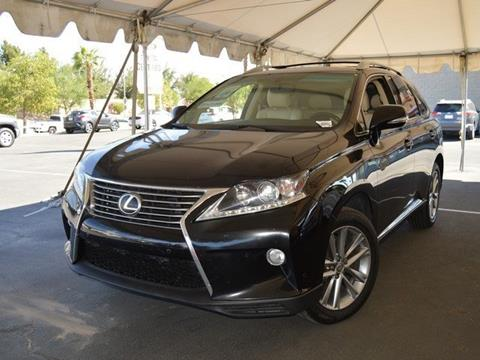 2013 Lexus RX 350 for sale in Indio CA