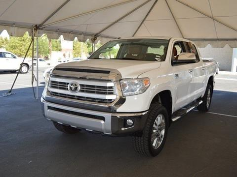 2014 Toyota Tundra for sale in Indio CA