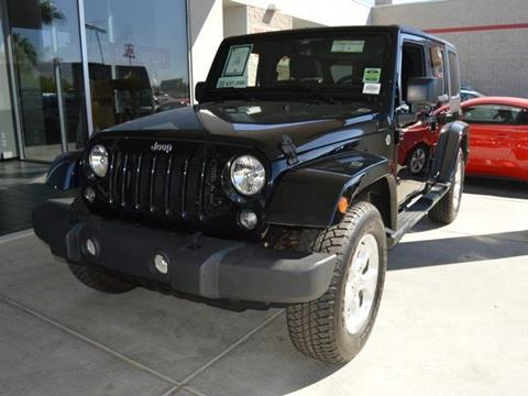 2015 Jeep Wrangler Unlimited for sale in Indio CA
