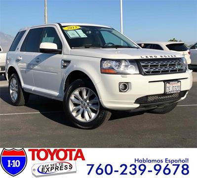 2013 Land Rover LR2 for sale in Indio, CA
