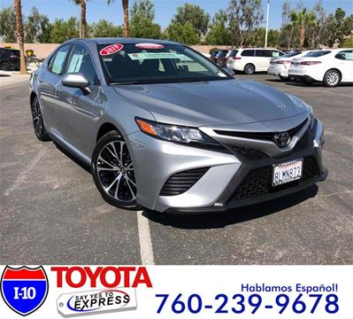 2019 Toyota Camry for sale in Indio, CA