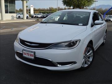 2015 Chrysler 200 for sale in Indio, CA