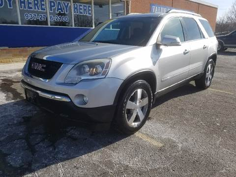 2010 GMC Acadia for sale in Dayton, OH