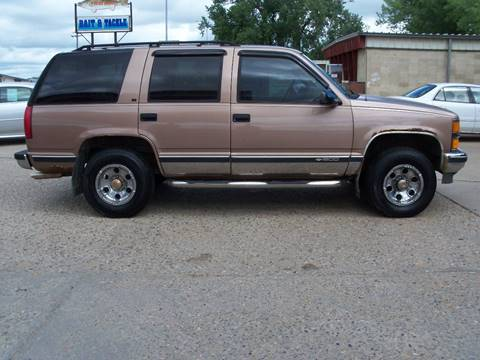 1995 Chevrolet Tahoe for sale at Value Motors in Watertown SD