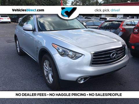 2016 Infiniti QX70 for sale in Charleston, SC